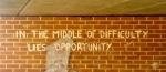 Dificultades y oportunidades